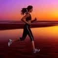 run-beach