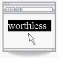 worth-less